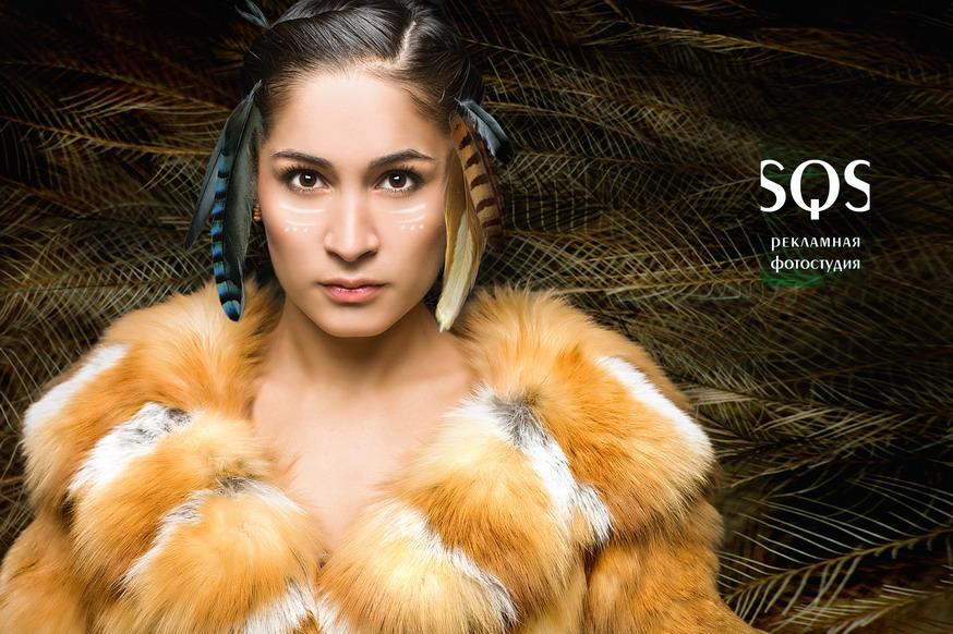 Рекламная фотосъемка для щитов, Мода и красота, Рекламная фотосъемка, Фотостудия SQS, Екатеринбург.