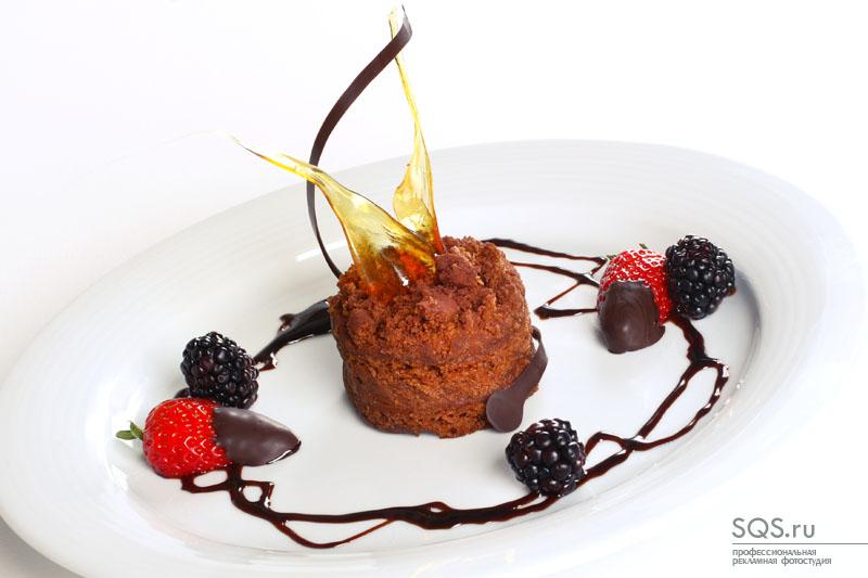 Фотосъемка десертного меню, Еда и напитки, Рекламная фотосъемка, Фотостудия SQS, Екатеринбург.